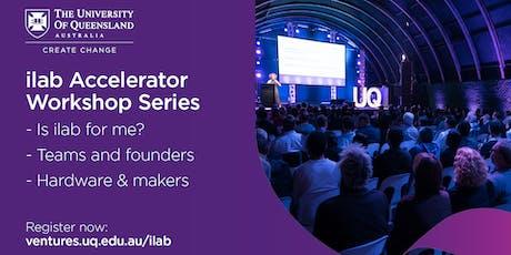 ilab Accelerator 2020 Workshop Series tickets