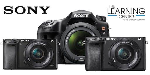 Sony DSLR Basics - West, Oct. 22