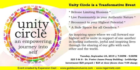 Unity Circle tickets