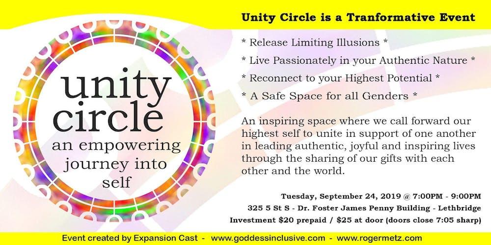 Unity Circle Tickets, Tue, 24 Sep 2019 at 7:00 PM   Eventbrite