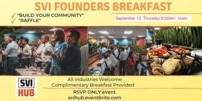 SVI Founders Breakfast