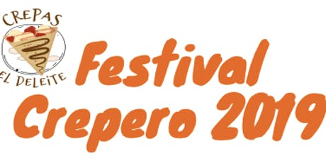 Festival Crepero 2019 boletos