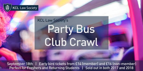 Party Bus Club Crawl tickets