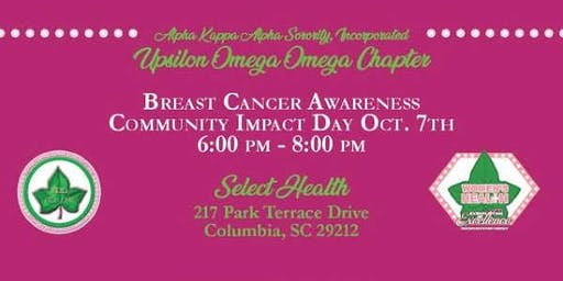 Breast Cancer Awareness Community Impact Day