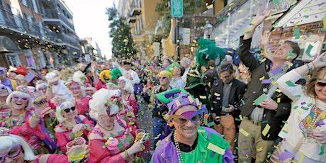Krewe of Cork Parade: Bourbon Street Balcony Celebration on Valentine's Day tickets
