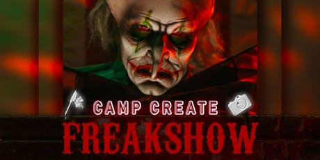 Camp Create Freakshow Party tickets