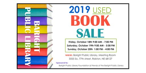 Used Book Sale - Friday, Oct 18
