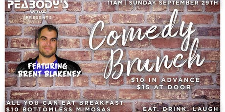 Comedy Brunch Featuring Brent Blakeney (SEPTEMBER 29TH) tickets