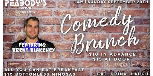 Comedy Brunch Featuring Brent Blakeney (SEPTEMBER 29TH)