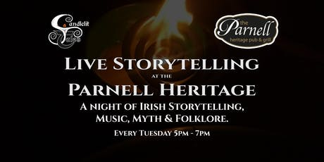 A night of Irish Storytelling, Music, Myth & Folklore. tickets