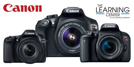 Canon DSLR Basics - West, Oct. 30 tickets