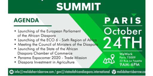 OFFICIAL: African Diaspora Political and Business Summit