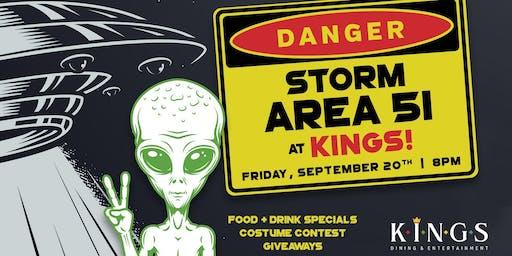 Crash Area 51 at Kings Franklin