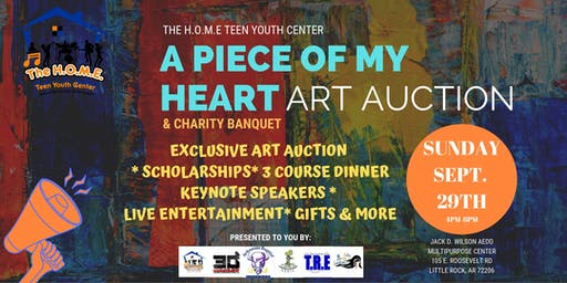 A Piece of My HeART: Charity Banquet & Art Auction