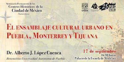 El ensamblaje cultural urbano en Puebla, Monterrey y Tijuana