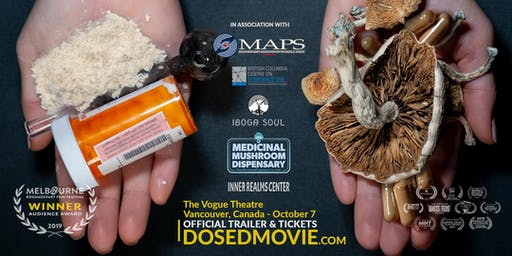 DOSED documentary + M.A.P.S. Fundraiser