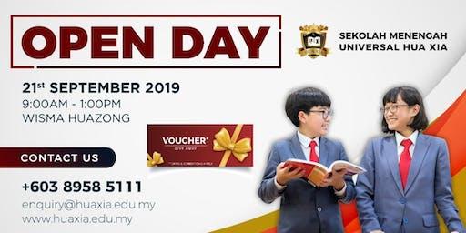 Sekolah Menengah Universal Hua Xia Open Day