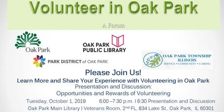 Volunteer in Oak Park tickets