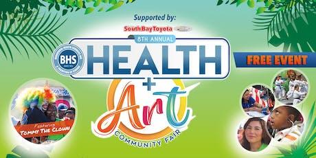8th Annual BHS Health & Art Fair tickets