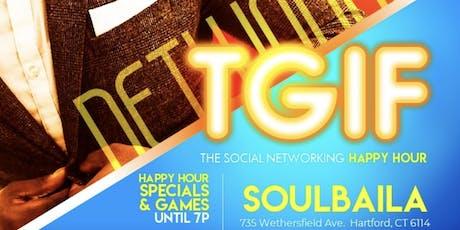 TGIF Happy Hour @ SoulBaila tickets