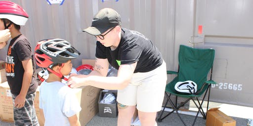 SF Bicycle Coalition and ThinkFirst Helmet Giveaway