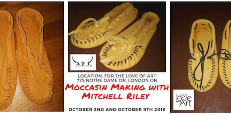 Moccasin Making with Mitchell Riley  tickets