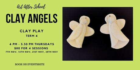 Clay Angels:  Art After School T4 - K-2 tickets