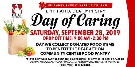 Day Of Caring tickets