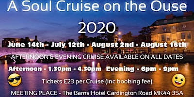 Soul Cruise on The Ouse Afternoon 12th July