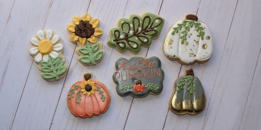 Hello Pumpkin Cookie Class