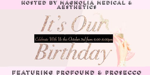 Celebrate our One Year Anniversary! Ft. Profound & Prosecco