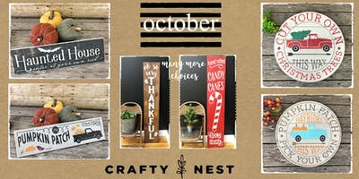 October 2nd Public Workshop at The Crafty Nest  - Whitinsville