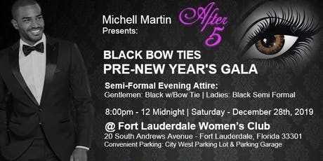 Black Bow Ties Pre-New Years Gala tickets