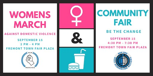 Women's March & Community Fair (Two Events)