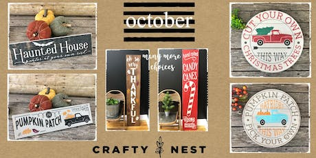 October 4th Public Workshop at The Crafty Nest  - Northborough tickets