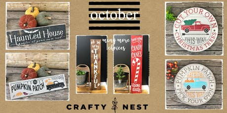 October 8th Public Workshop at The Crafty Nest  - Whitinsville tickets