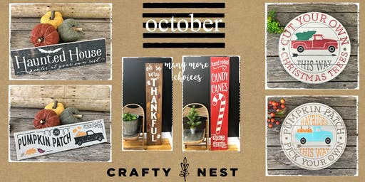 October 16th Public Workshop at The Crafty Nest  - Northborough