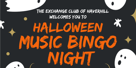 Halloween Music Bingo presented by the Exchange Club of Haverhill tickets
