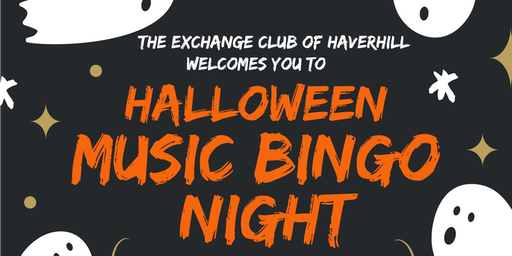 Halloween Music Bingo presented by the Exchange Club of Haverhill