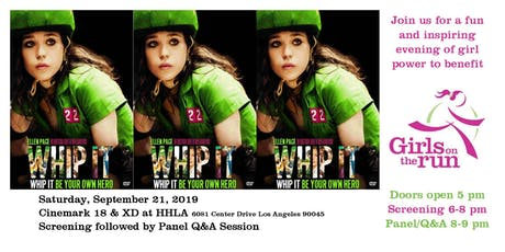 Girls on the Run Fundraising Screening: Whip It tickets