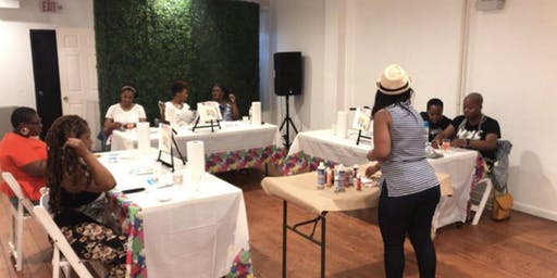 Sip, paint and create