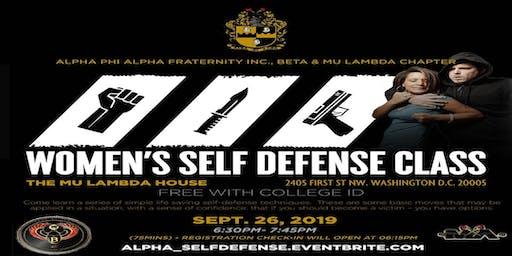 Alpha Self-defense for College Women
