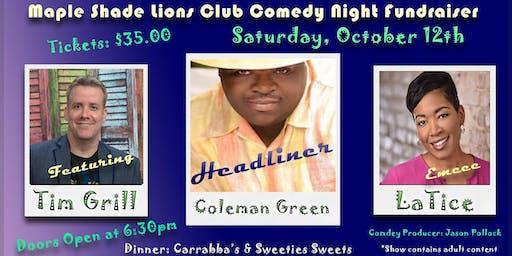 Maple Shade Lions Club Comedy Night Fundraiser