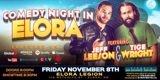 Comedy Night in Elora