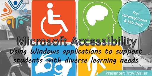 Using Windows Applications to Support Students with Diverse Learning Needs