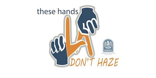 Louisiana Board of Regents' Anti-Hazing Summit