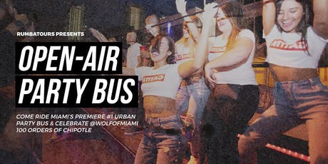 Open Air Party Bus | Tour tickets