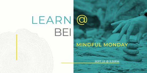 Mindful Monday - ZEN REGEN. The first in is a series of mindful sessions.
