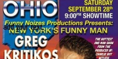 Sober is the New High Starring Greg Kritikos tickets