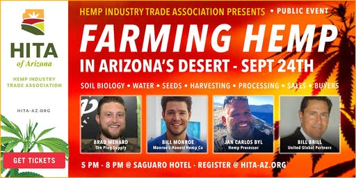 September Hemp Industry Trade Association of Arizona Meeting
